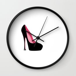 Women's Shoe Hoarder T-Shirt Shoe Lover Shirt For Women Wall Clock
