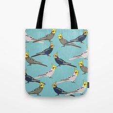Cockatiels Tote Bag