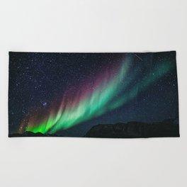 Aurora / Northern Lights II Beach Towel