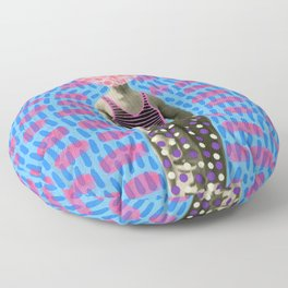 Walking Dot Floor Pillow