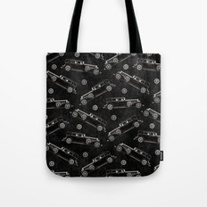 Retro Cadillac car pattern Tote Bag