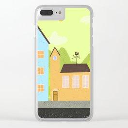 Village Clear iPhone Case
