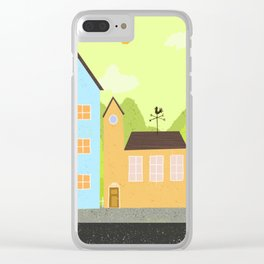 Village Clear iPhone Case