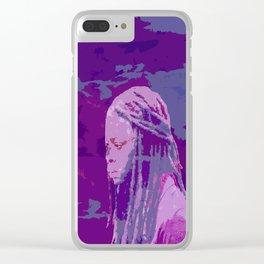 Michonne Clear iPhone Case
