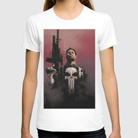 punisher T-shirts featuring Punisher by Dave Seguin