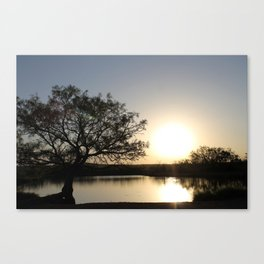 Roswell Pond Canvas Print