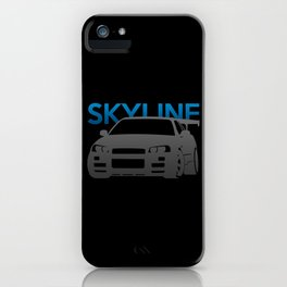 Nissan Skyline GT-R  iPhone Case