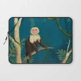 Monkey In The Jungle Laptop Sleeve