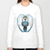 skyfall Long Sleeve T-shirts featuring Skyfall Dragon by Pr0l0gue