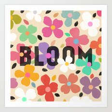 Bloom - Galaxy Eyes & Garima Dhawan Art Print