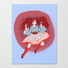 Period-Chan Canvas Print