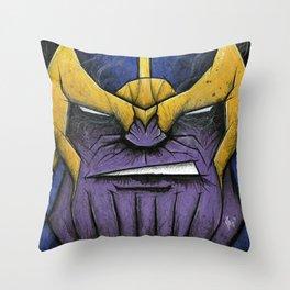 The Mad Titan Throw Pillow