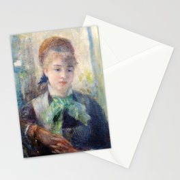Pierre-Auguste Renoir - Portrait Of Nini Lopez - Digital Remastered Edition Stationery Cards