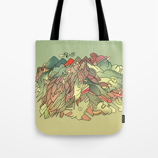 The hills are alive with the sound of Music. Tote Bag
