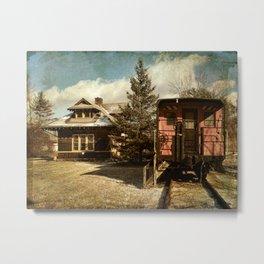 Accord Train Station Metal Print
