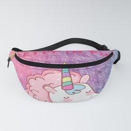 Pretty in pink unicorn Fanny Pack