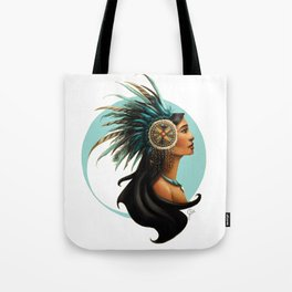 Tribal Princess Pocahontas Tote Bag