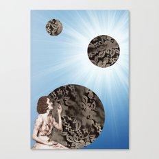Lace Bubbles Canvas Print