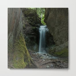Beautiful Small Waterfall Metal Print