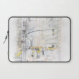 The reflection of a big city Laptop Sleeve