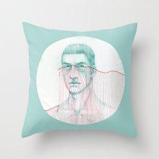 Misfit Circuit 2 Throw Pillow