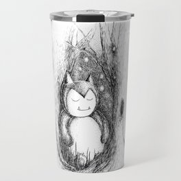Snoozy Snorlax Travel Mug