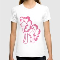 pie T-shirts featuring Pinky Pie by Tanya Thomas