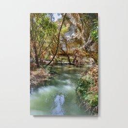 Bermejales canyon. Cacin river. Spain.  Metal Print