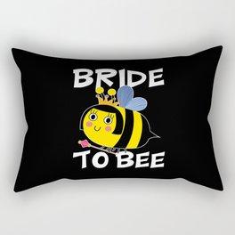 Bride To Bee Rectangular Pillow