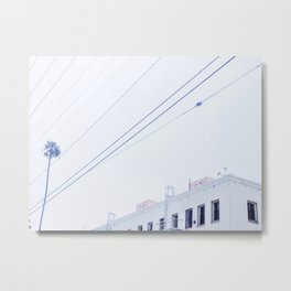 Whitewashed in Highland Park Metal Print