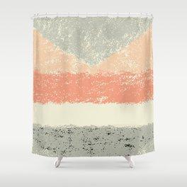 Soft geometry Shower Curtain