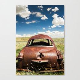 Ford Custom V8 Canvas Print