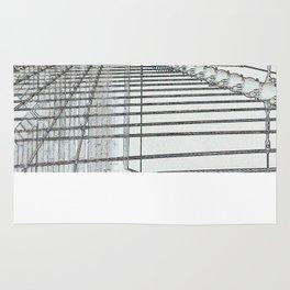 Brooklyn Bridge Cables Abstract Rug