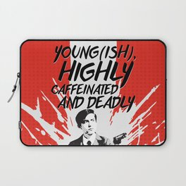 Young(ish), highly caffeinated and deadly Laptop Sleeve