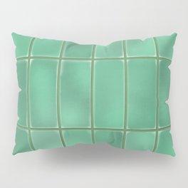 Cyan Tiles Pillow Sham