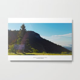 Devil's Couthouse View - Blue Ridge Parkway Metal Print