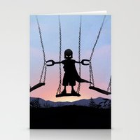 magneto Stationery Cards featuring Magneto Kid by Andy Fairhurst Art