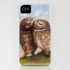 Owls in Love iPhone (4, 4s) Slim Case