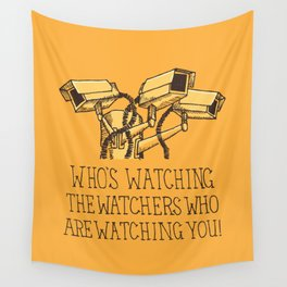 Surveillance Wall Tapestry