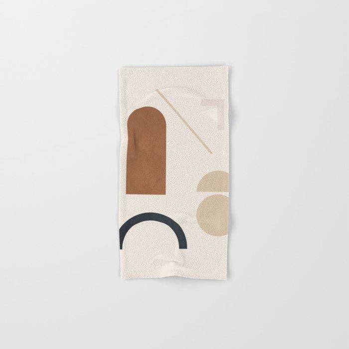 Geometric Modern Art 32 Hand & Bath Towel