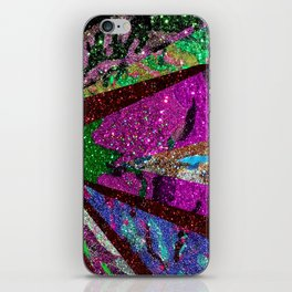 Peacock Mermaid Lavender Abstract Geometric iPhone Skin