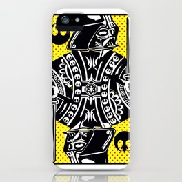 King Vader iPhone Case