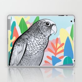 Tropical Conure Parrot Laptop & iPad Skin