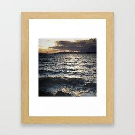 Light on the Water Framed Art Print