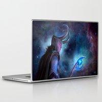 loki Laptop & iPad Skins featuring Loki by Slugette