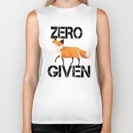 Zero Fox! Biker Tank