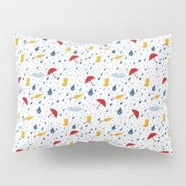 Rainfall pattern Pillow Sham