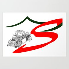 RennSport Speed Series: Monte Carlo Art Print
