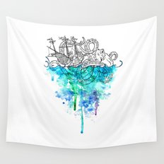 From the Deep, Deep Down. Wall Tapestry