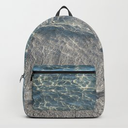 Water Photography Beach Backpack
